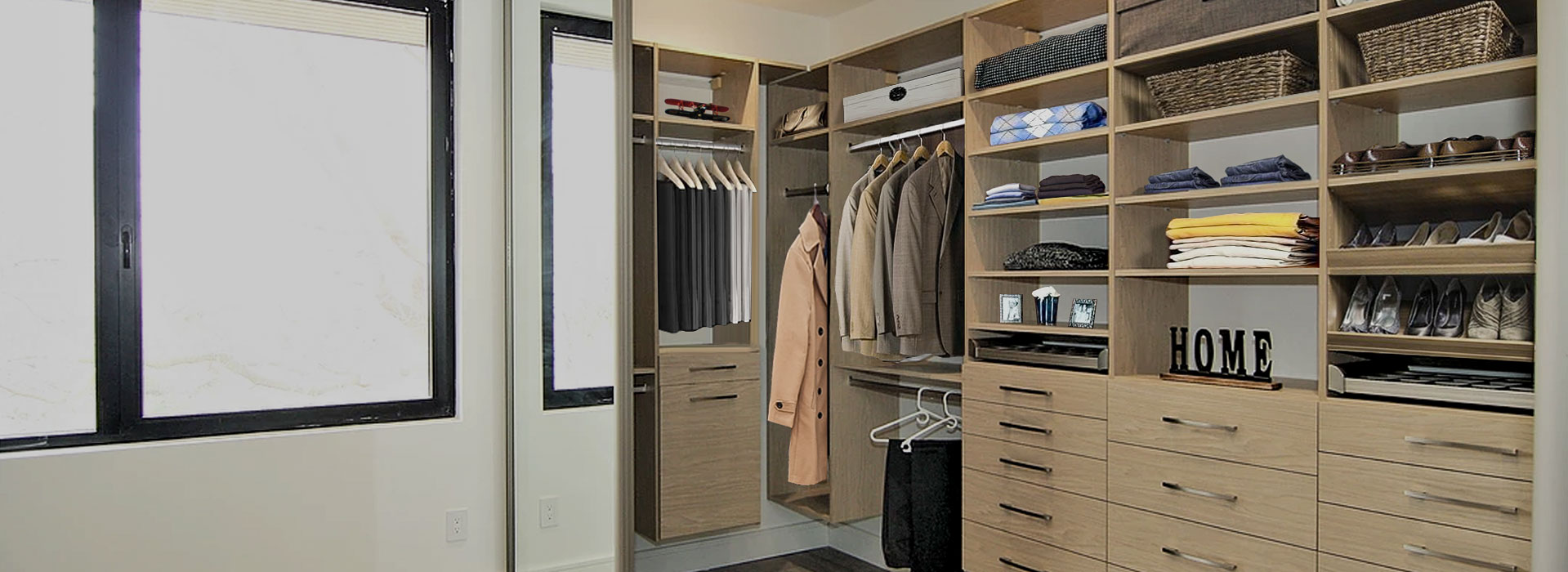 closet created by closetexpress