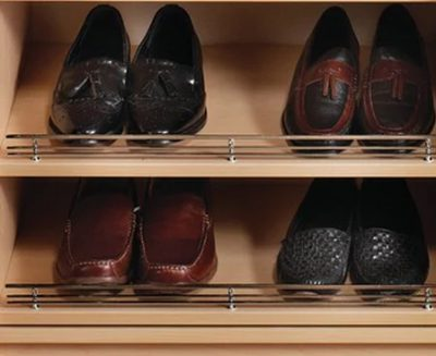SLANTED SHOE SHELF KIT