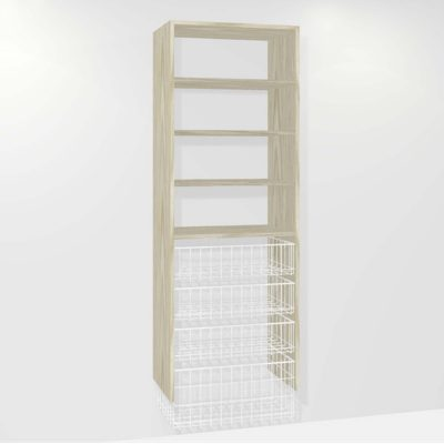 B310 (3-small basket 1-medium basket 3-shelf)