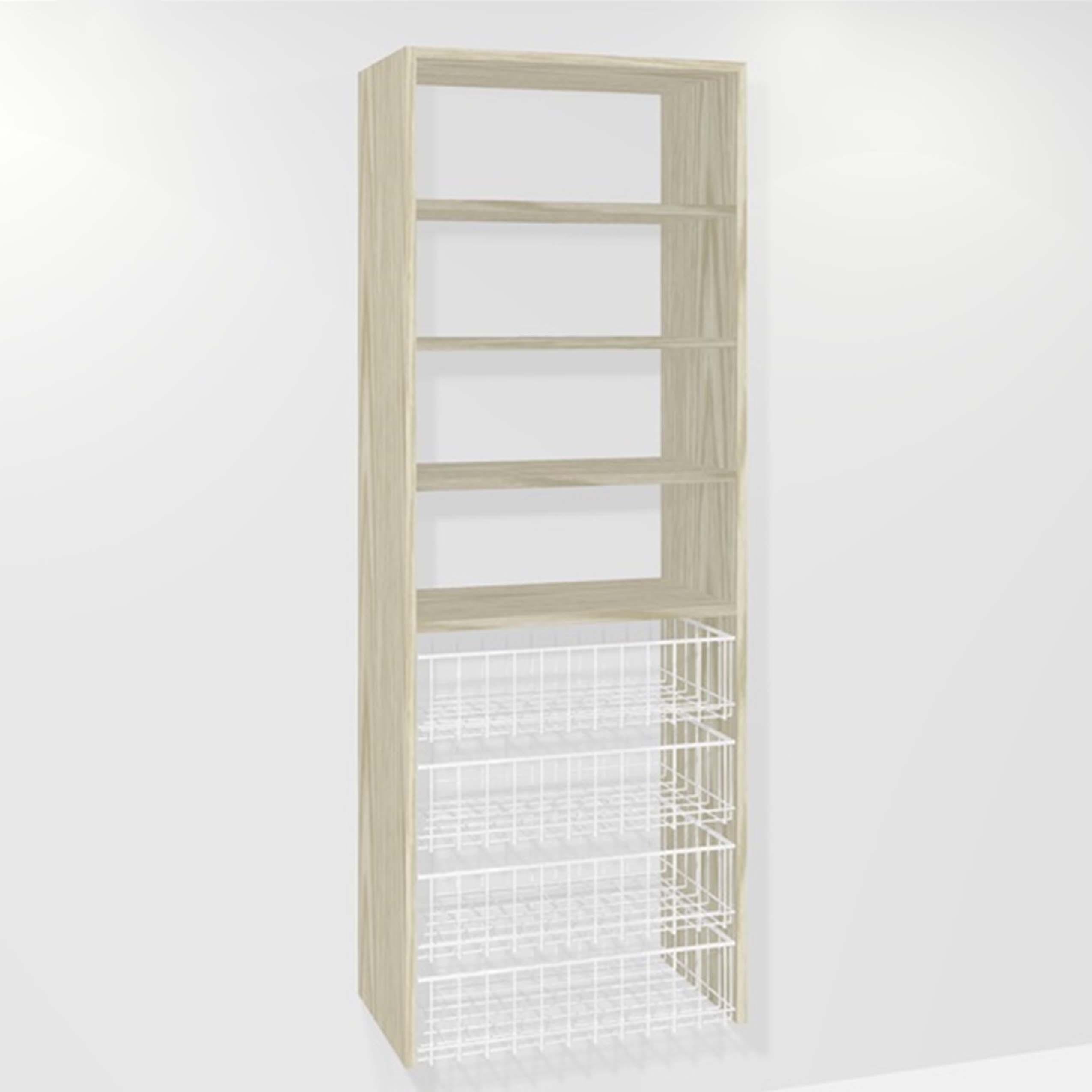 (4-small basket 3-shelf)