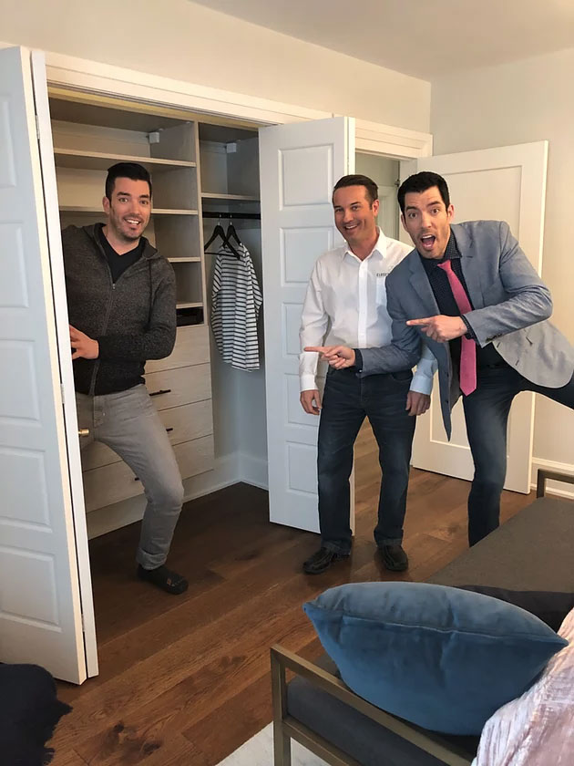 Closet Express to be Featured in Season 5 of Property Brothers: Buying + Selling
