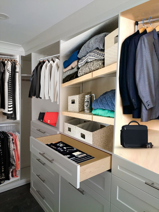 men closet design