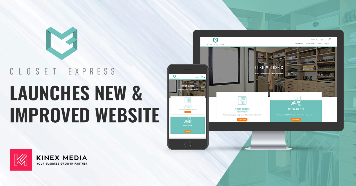 Closet Express Launches New & Improved Website