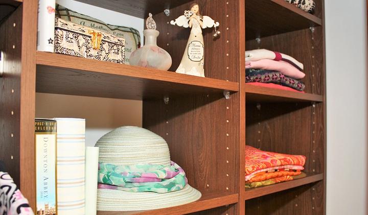 woman closet design